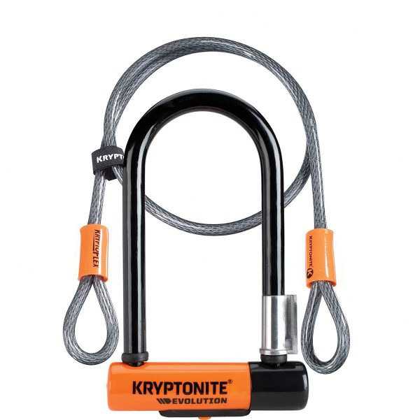 Evolution Mini 7 Lock with 4 Foot Cable